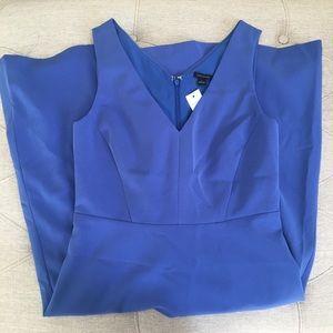 ✅ Ann Taylor Dress Blue Size 0 brand new